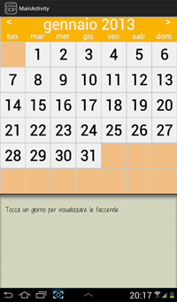 Planning settimanale faccende per le casalinghe che for Planning faccende domestiche