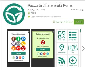 raccolta differenziata app