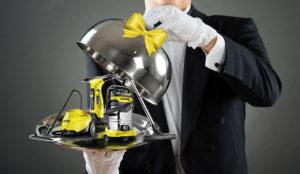 Maggiordomo pulitore a vapore kaercher