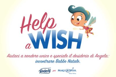 tenderly help a wish