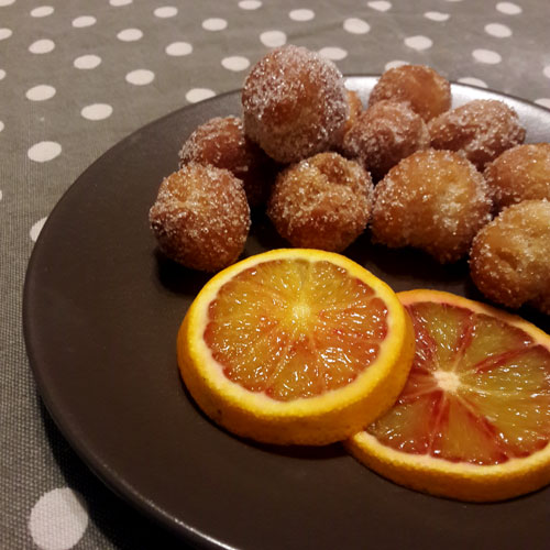castagnole-arancia
