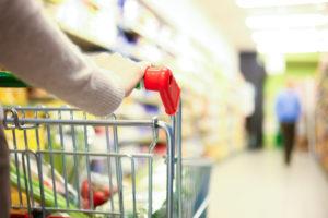 Lui al supermercato