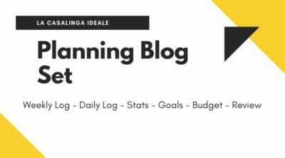 Planning Blog Set