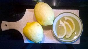 pulire la casa con il succo di limone