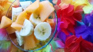 frullato energico al melone e banana