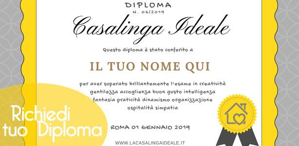 Richiedi il tuo Diploma