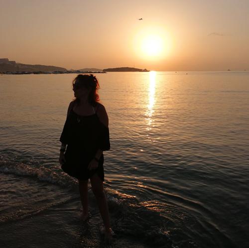 la mamma tramonta